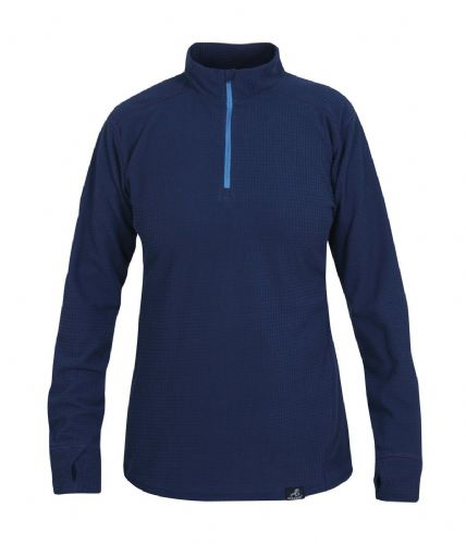 Paramo Ladies' Grid Technic Baselayer - Midnight Blue